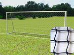 Resim  Nizami Futbol Kale Ağı Naylon 10 x 10 Göz Aralığı