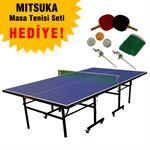 Resim  Mitsuka Spinmaster Blue Masa Tenis Masası