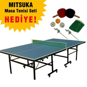 Resim  Mitsuka 201B Masa Tenis Masası Mavi Renk