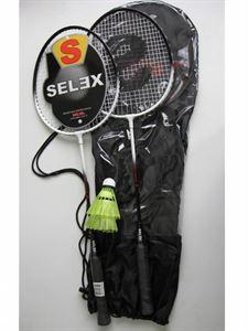 Resim  Selex Thunder Çiftli Çelik Badminton Seti